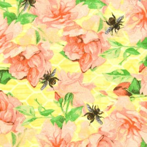 Bee Sweet Roses & Bees - Yellow