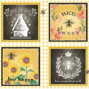 Bee Sweet  - Block Panel
