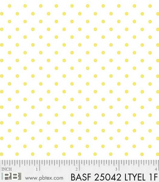 Yellow Dots - Flannel