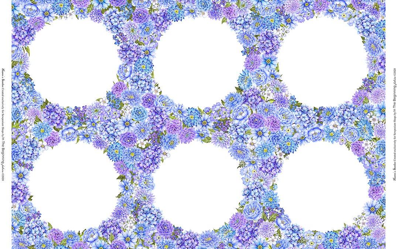 Karen's Garden Frames (Holes) - Periwinkle
