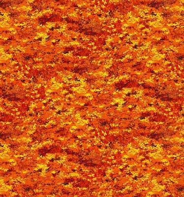 Autumn Blaze - Orange Tree Leaves