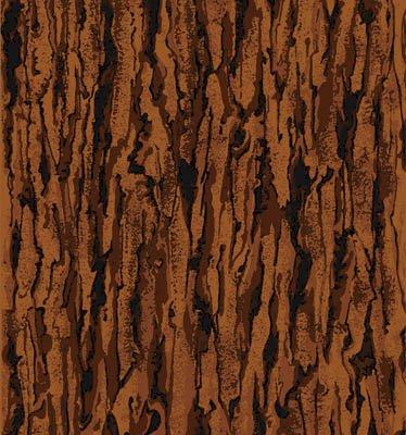 Autumn Blaze - Brown Wood Print