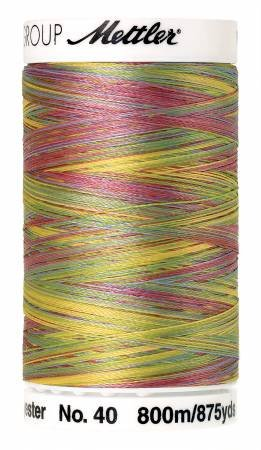 Poly Sheen Polyester Variegated - Spring Fling