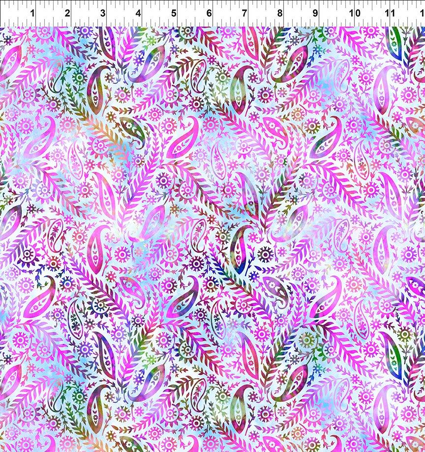 Floragraphix V - Lavender Paisley
