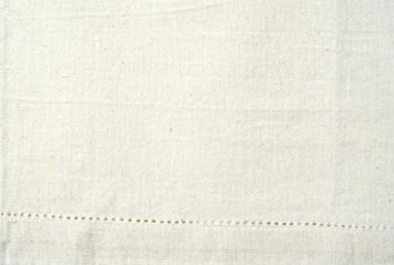 Tea Towel -  Cream Solid with Eyelets