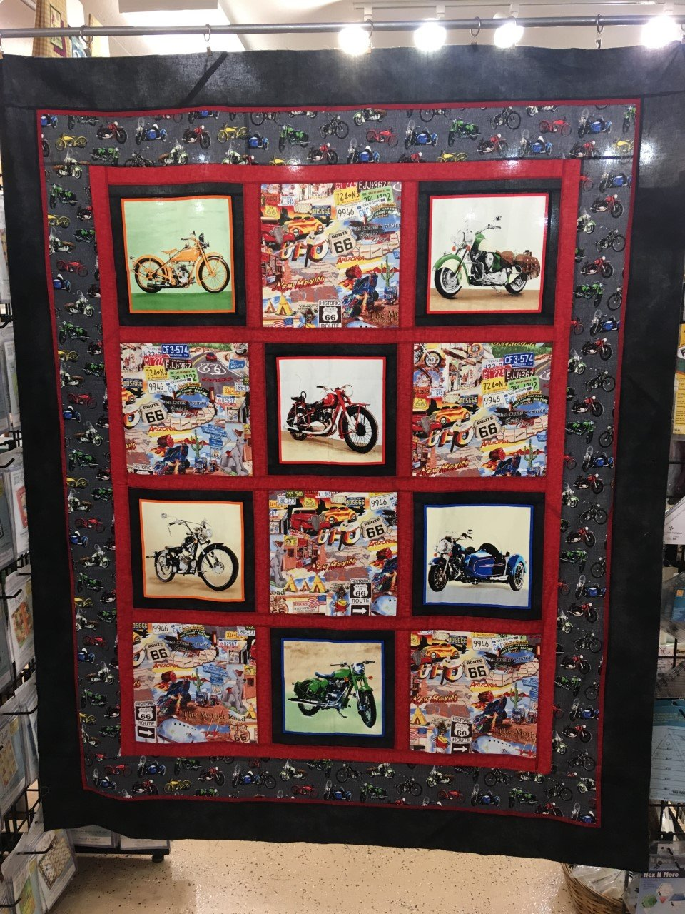Mother Road Quilt Kit