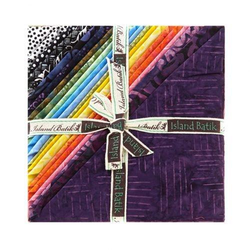 Bliss Batik Stack - 42 - 10 Squares