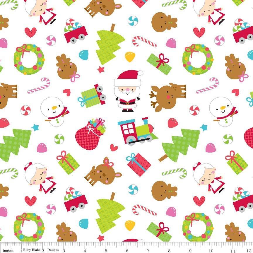 Santa Express C4720 White Main Print