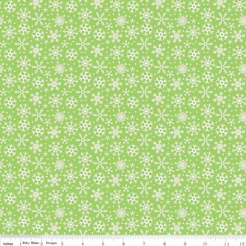 Santa Express C4725 Green Snowflake