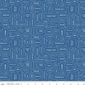 Modern Mini's C4767-Blue Texting