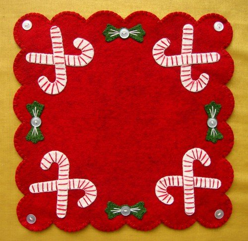 Candy Canes Kit - Wool