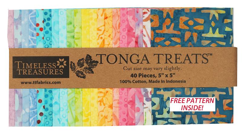Tonga Treat Minis - Candy Shop Batik 40 ct 5 Squares