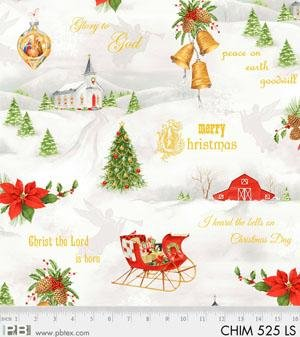 Christmas Chimes - Winter Motif