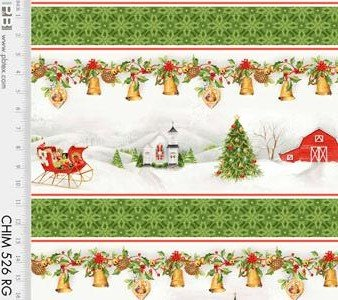 Christmas Chimes - Border Stripe