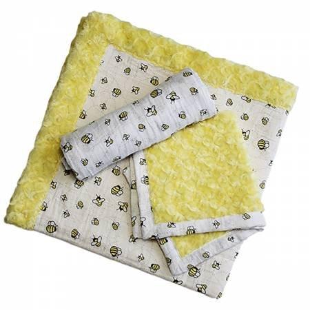 Cuddle Patty Cakes Kit - Honey Bun (Yellow with Bumble Bees)