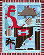Dino World Panel DT-2682-2C/1