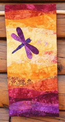 Summer Dragonfly - Hand Dyes & Batiks