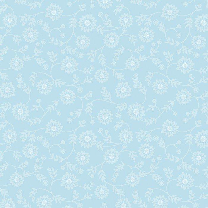 Ellen's Floral - Crystal Blue