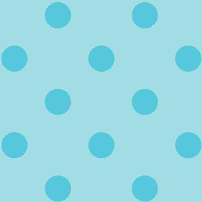 Happy Dots - Baby Blue/Aqua