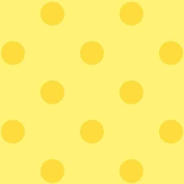 Happy Dots - Sunshine Yellow/Canary