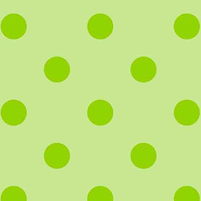 Happy Dots - Lt. Green/Lime
