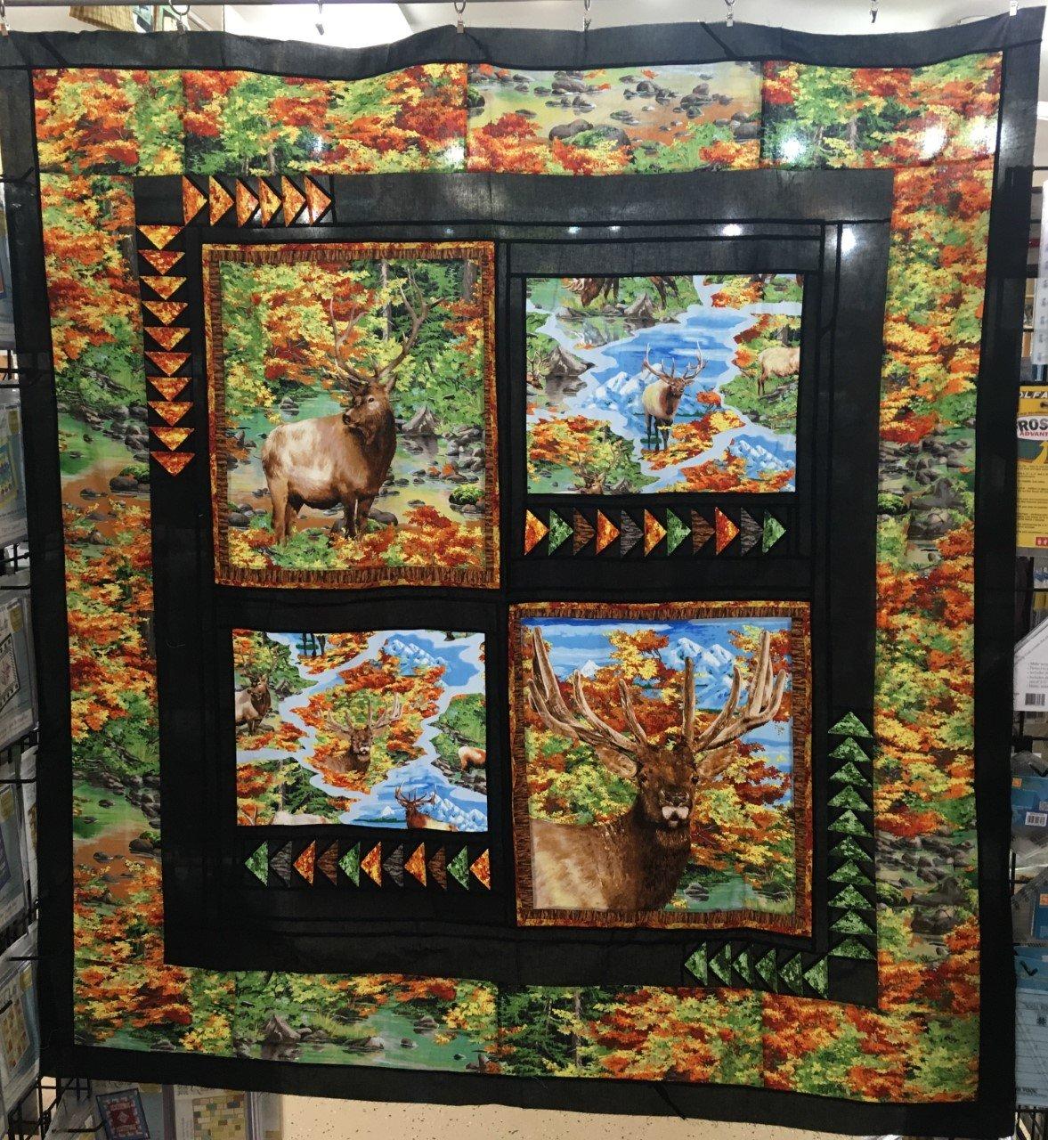 Elk Mountain Quilt Kit