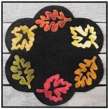 Fall Foliage Candle Mat Kit - 12 round