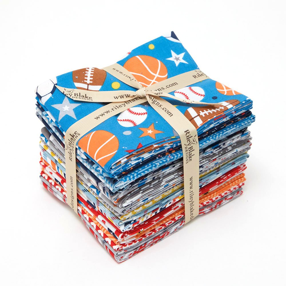 Play Ball 2 - Bundle of Fat Quarters (21)