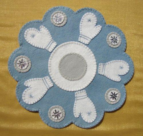 Frosty Mittens Kit - Wool