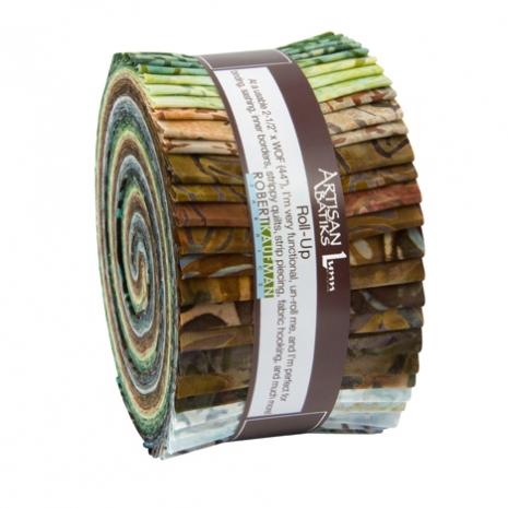 Artisan Batik Roll Up - Grove
