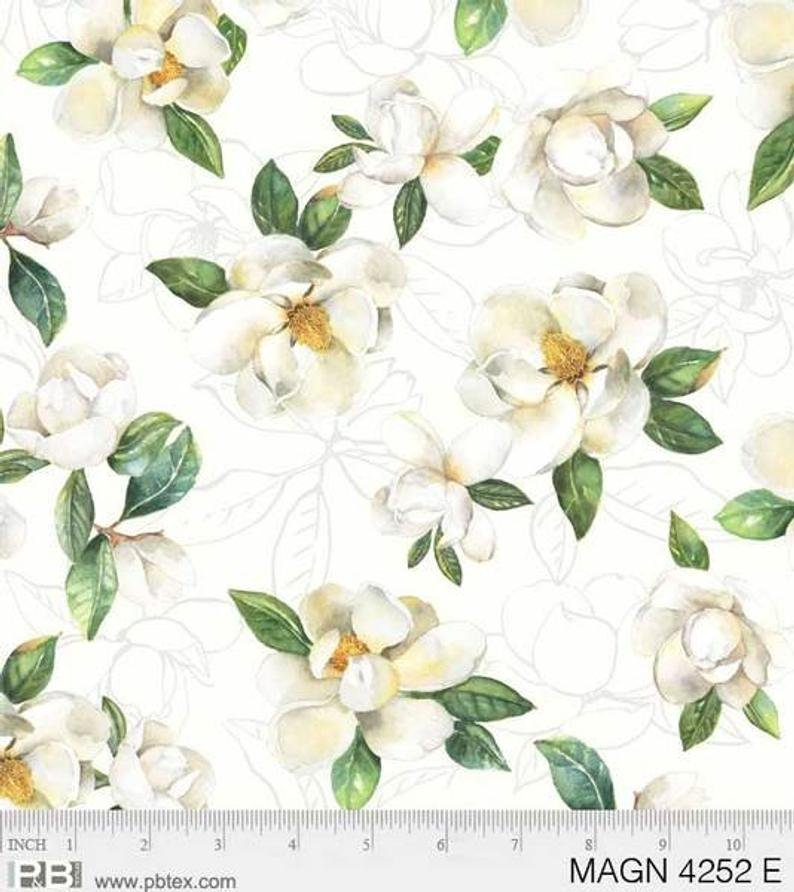 Cream Magnolias - Cream