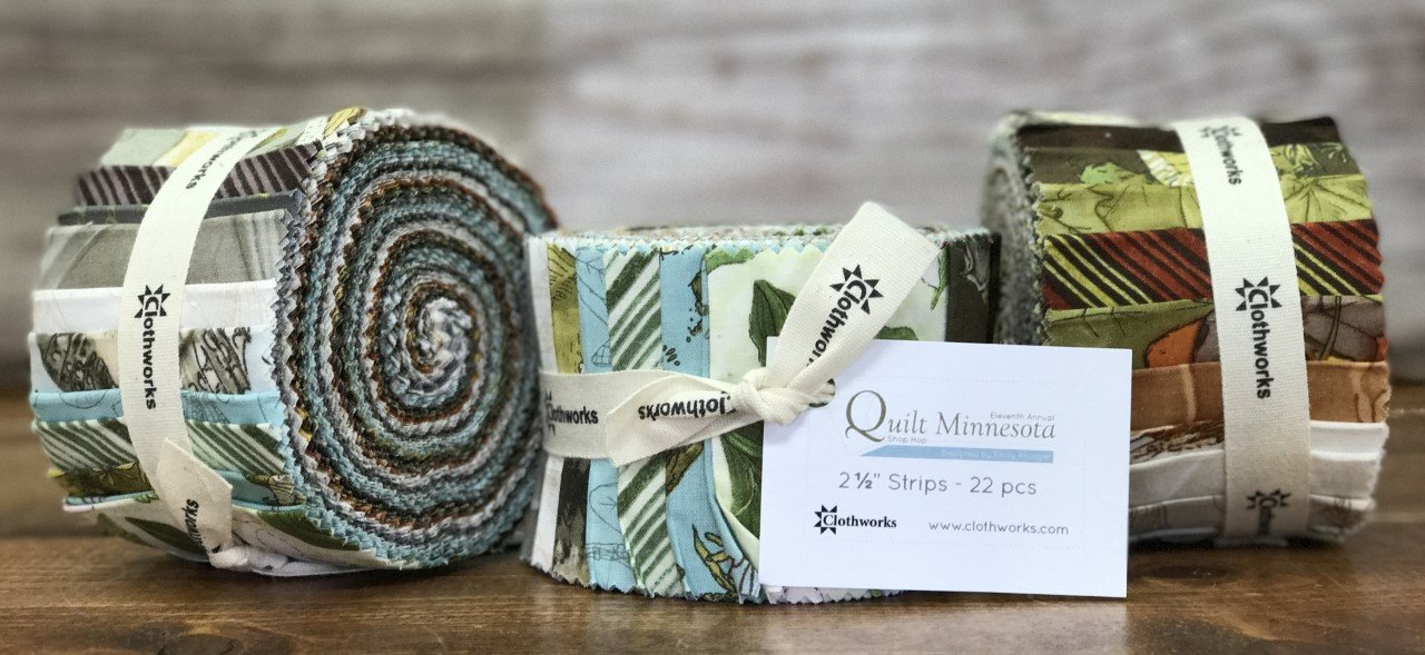 2017 Quilt Minnesota - 2-1/2 Strip Roll