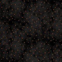 Itty Bitty Dots - Black/Orange