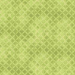 Stitched Crosshatch - Green