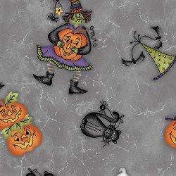Tossed Halloweenies - Gray