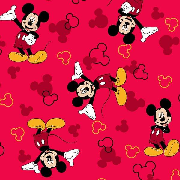 Mickey & Icon Toss