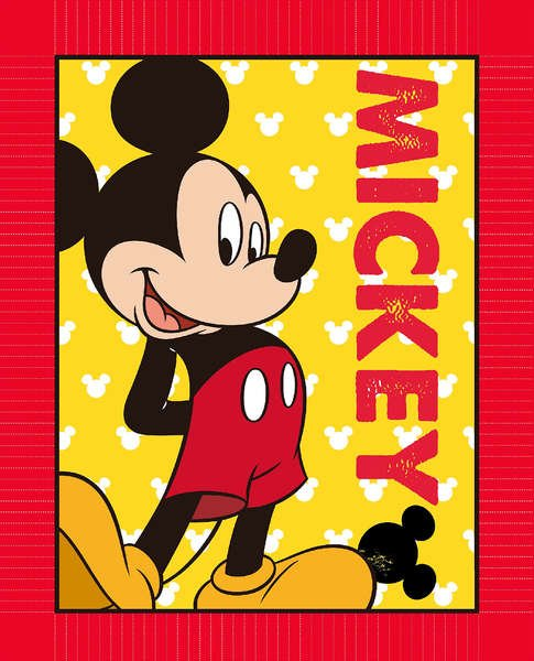 Mad About Mickey Panel