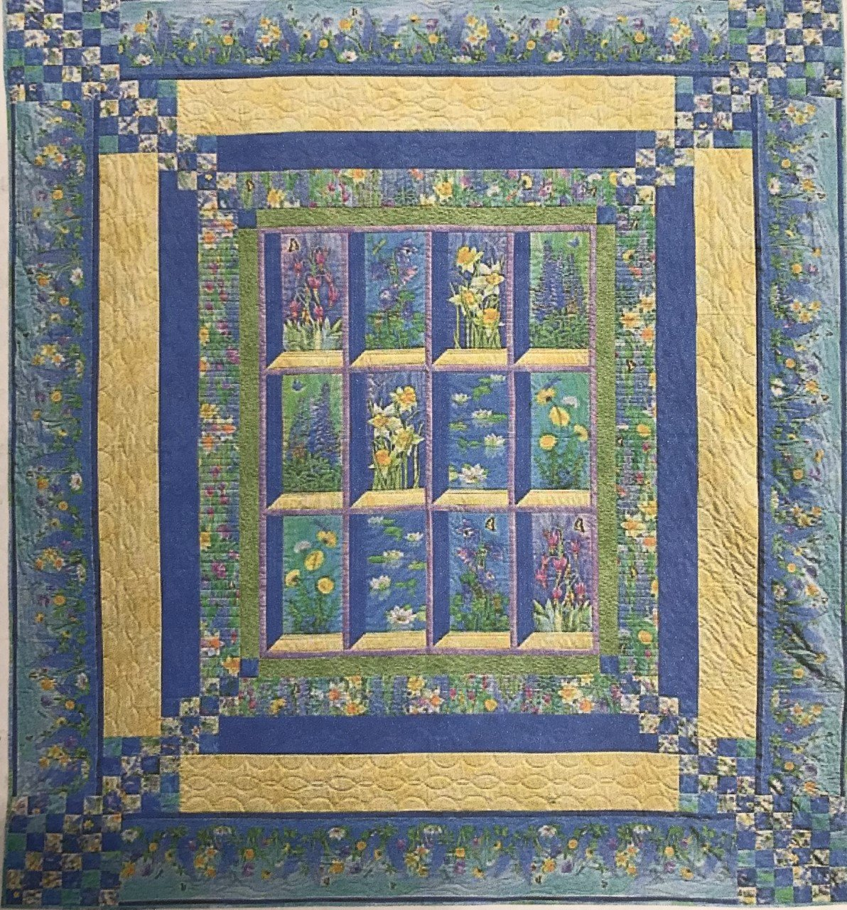 Nature's Garden Quilt Kit