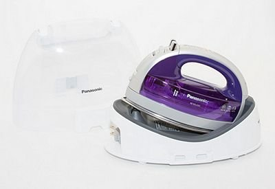 360 Freestyle Cordless Iron with Teflon Sole Plate - Purple