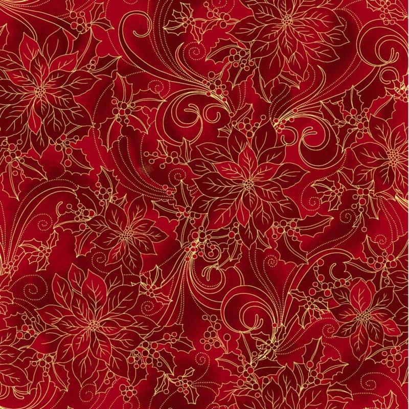 Noel Poinsettia - Red