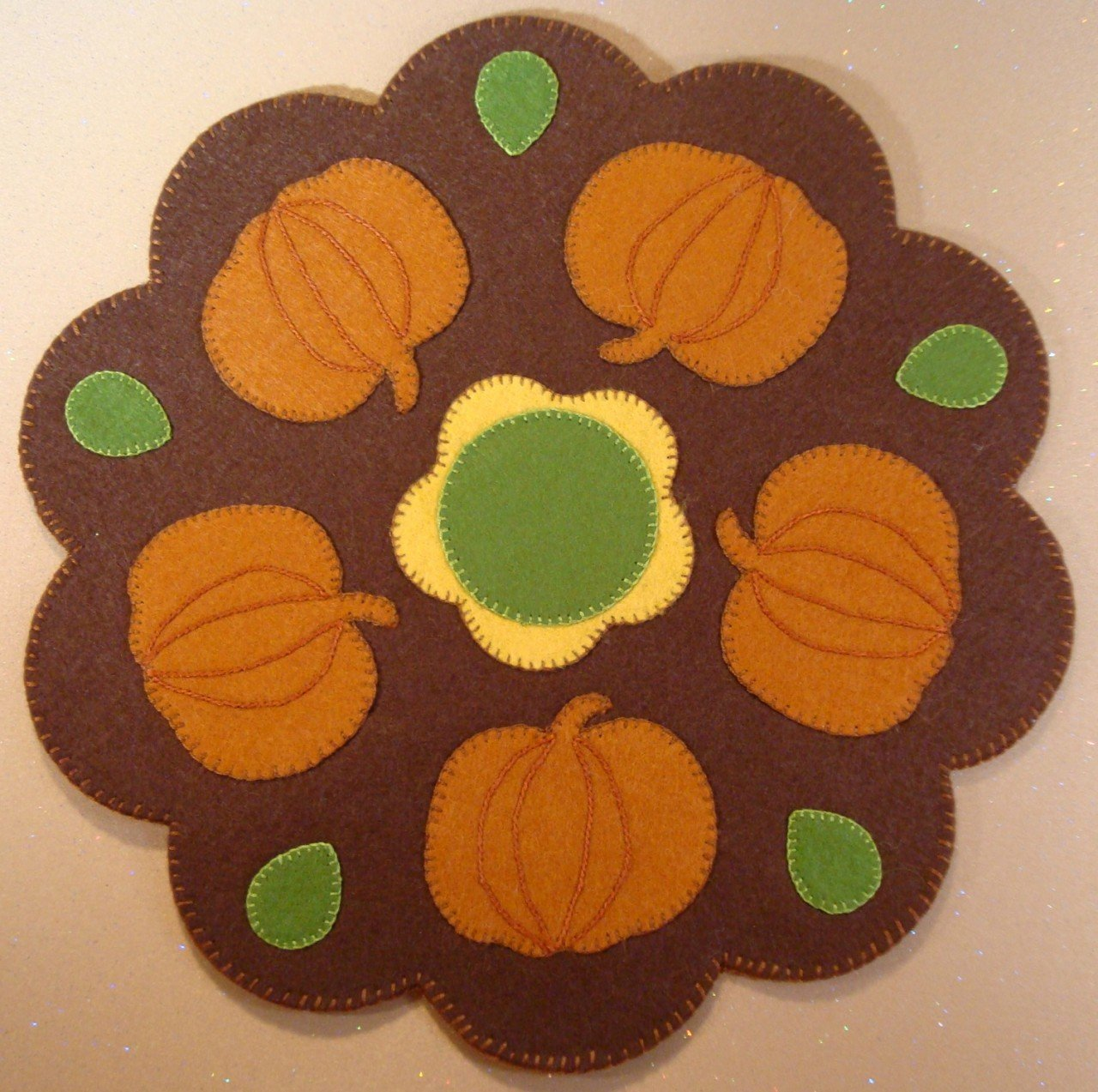 Pumpkins Kit - Wool