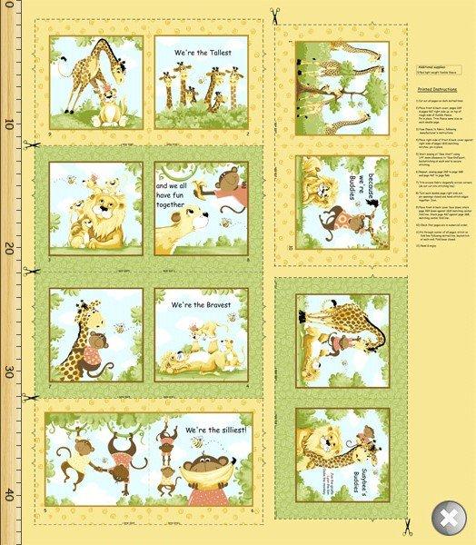 Susybee Buddies - Storybook Panel