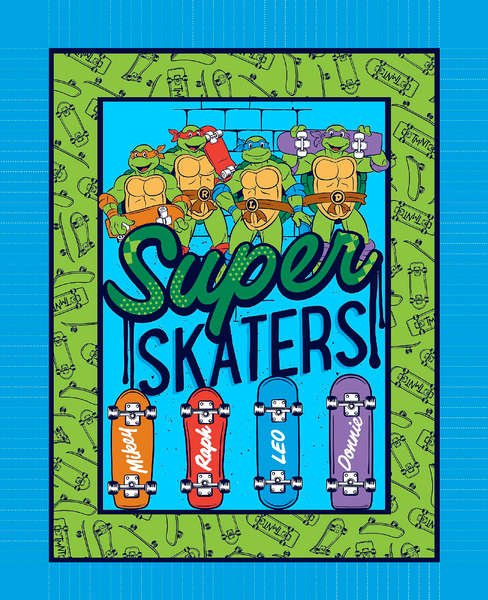 Teenage Mutant Ninja Turtle Super Skaters Panel