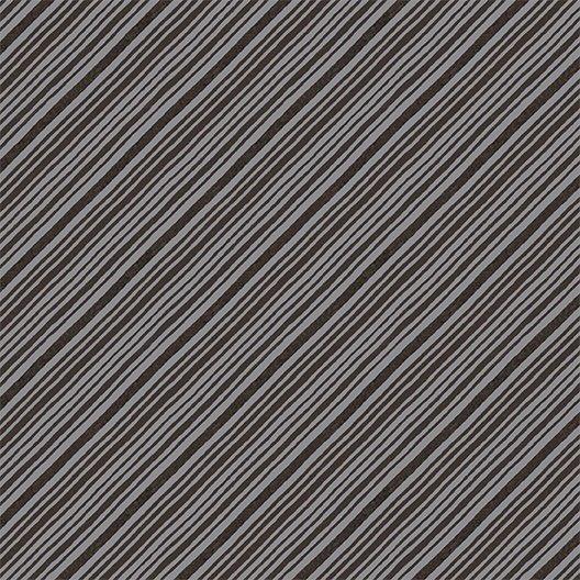 2017 Quilt Minnesota Diagonal Stripe - Dark Taupe