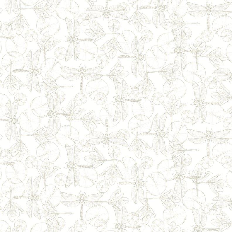 2017 Quilt Minnesota Dragonflies - Light Taupe