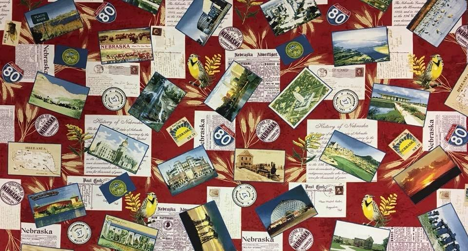 Postcards From Nebraska - Red