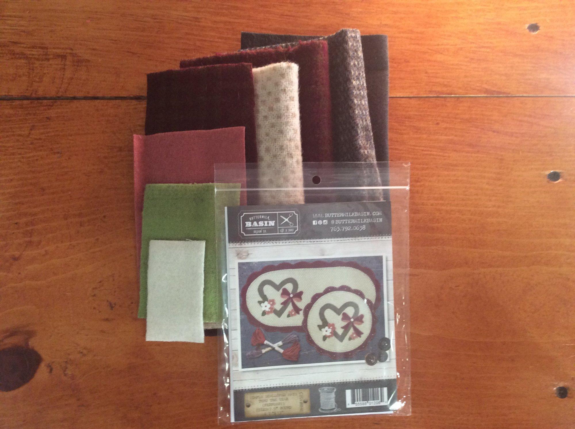 Simply Scalloped Mats/FEB kit