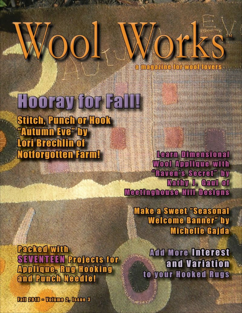 Wool Works Fall 2018 Volume2, Issue 3