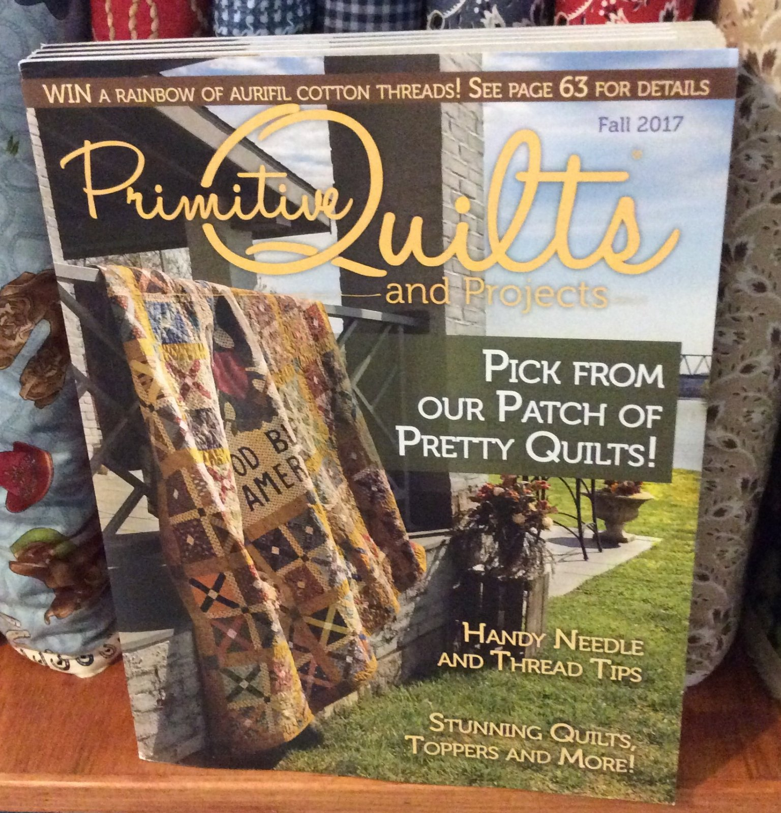 Primitive Quilts and Projects Fall 2017