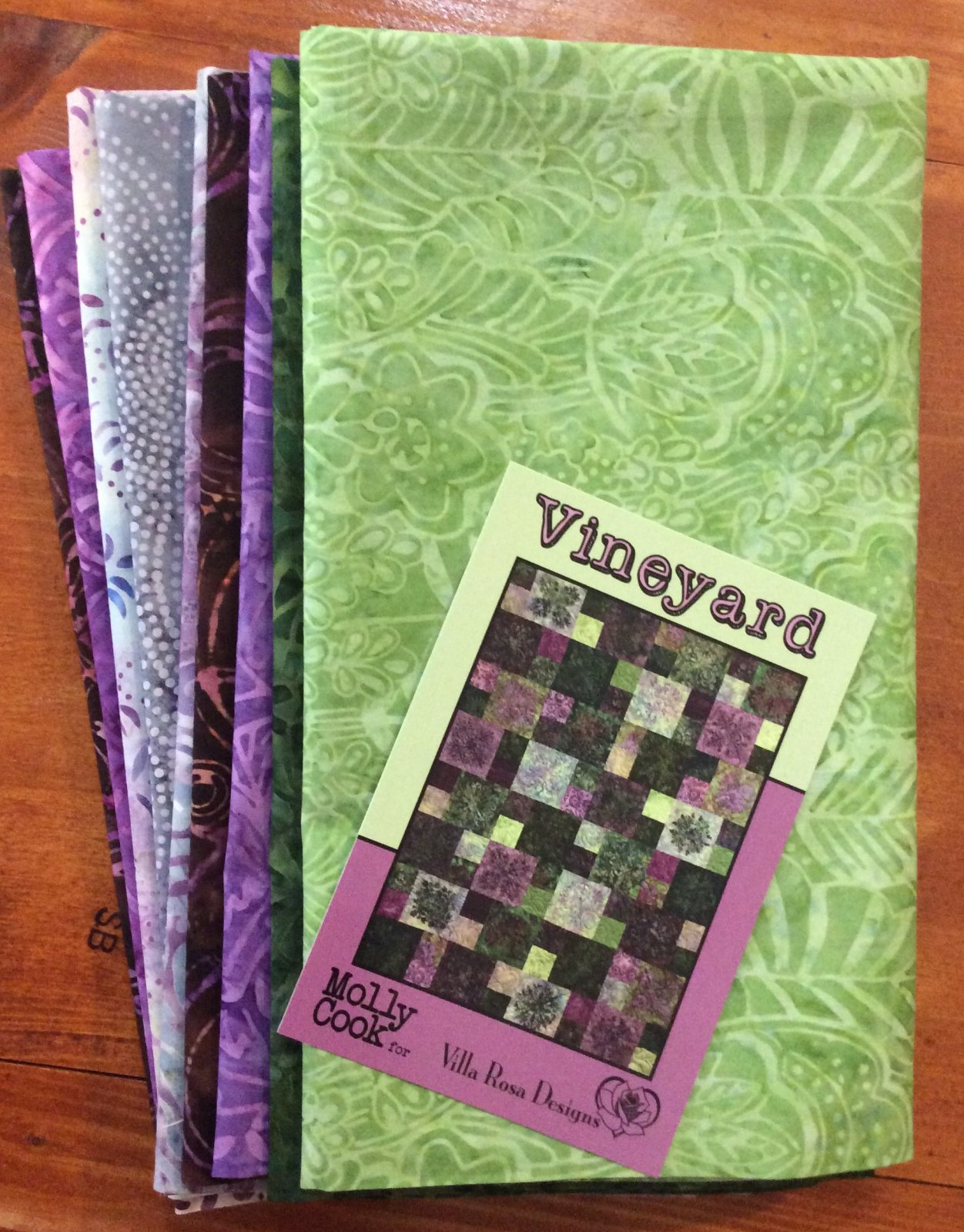 Vineyard Quilt Kit